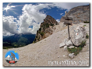 Dolomity 2011 - spacer internetowy